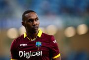 Dwayne Bravo of West Indies