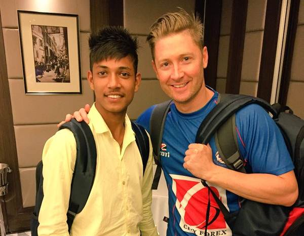 Nepali cricketer Sandeep Lamichhane gets IPL contract, PM congratulates