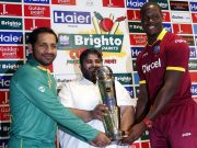 Pakistan's T20I captain Sarfraz Ahmed