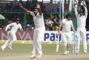 Ravi Ashwin v New Zealand