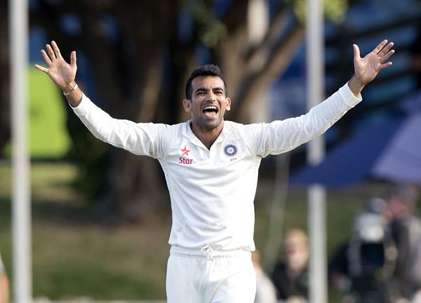 Zaheer Khan of India
