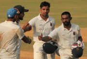 Ranji Trophy 2016-17 first-class Partnership