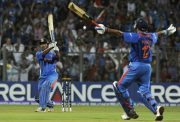 MS Dhoni World Cup six