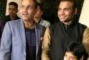 Virender Sehwag with Joginder Singh (Photo Source: Twitter)