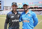 MS Dhoni and Kane Williamson