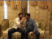 Shahid Afridi and Javed Miandad.