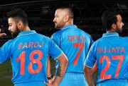 MS Dhoni, Virat Kohli and Ajinkya Rahane