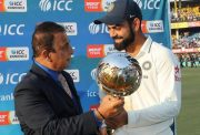 Virat Kohli Test mace India Test cricket