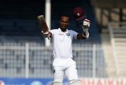 Kraigg Brathwaite of West Indies