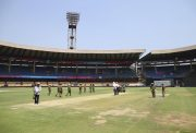 Cricket pitch Chinnaswamy Stadium IPL