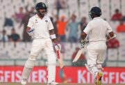 Virat Kohli and Parthiv Patel India