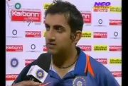 Gautam Gambhir (photo source: YouTube)