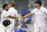 Alastair Cook and Karun Nair India