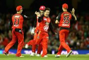 Brad Hogg of the Renegades