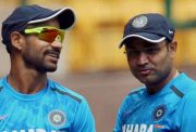 Shikhar Dhawan with Virender Sehwag
