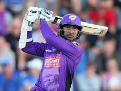 Kumar Sangakkara of the Hurricanes