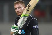 Martin Guptill of New Zealand vs Australia