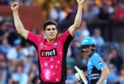 Sean Abbott of the Sydney Sixers