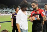 Shah Rukh Khan and Virat Kohli