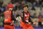 Brad Hogg of the Melbourne Renegades