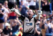 Colin Munro of the Black Caps