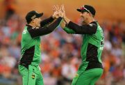 David Hussey and Kevin Pietersen