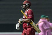 Dwayne Smith of West Indies