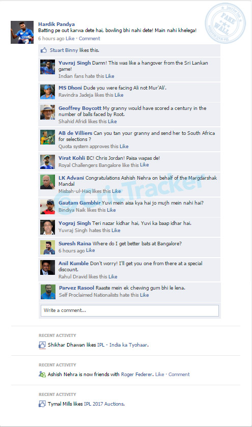 Fake Fb Wall