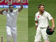 Ravichandran Ashwin vs David Warner
