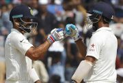 Virat Kohli Captain and Cheteshwar Pujara India