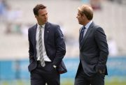 Michael Vaughan and Shane Warne