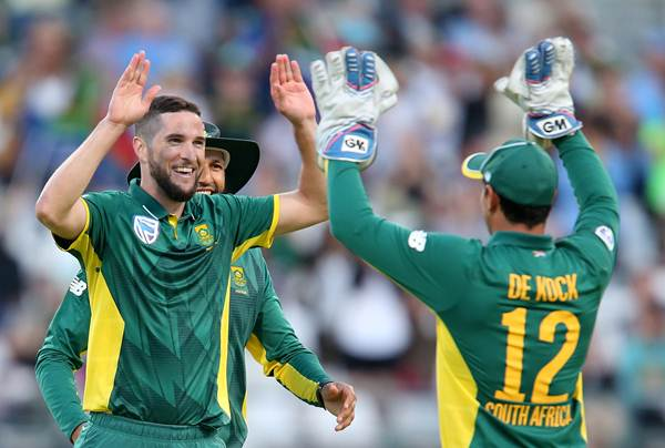 Wayne Parnell of the Proteas