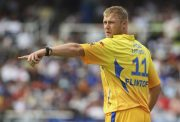 Andrew Flintoff of CSK