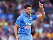 Ashish Nehra of India Indian players