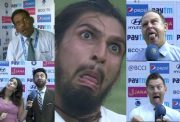 Ishant Sharma Game Face