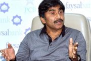 Javid Miandad of Pakistan