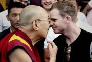 Steve Smith and Dalai Lama