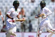 Tamin Iqbal and Imrul Kayes of Bangladesh