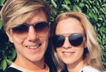 Adam Zampa and Hattie Leigh