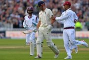 West Indies and Alastair Cook