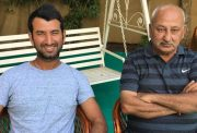 Cheteshwar Pujara's father Arvind