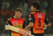 David Warner and Moises Henriques