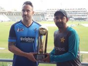 Faf du Plessis and Sarfraz Ahmed