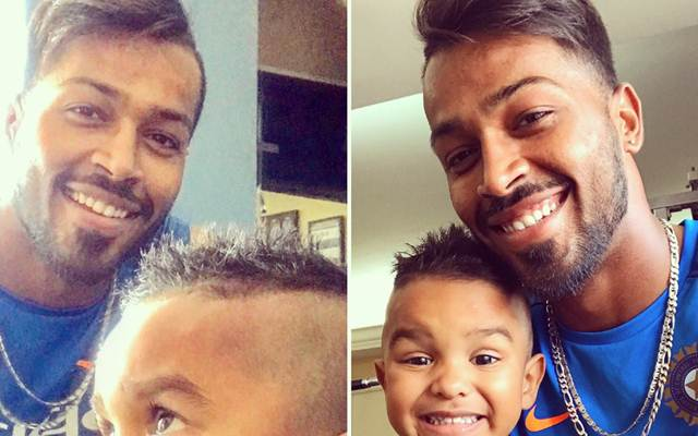 Hardik Pandya Wants To Try Zoravar Dhawans New Hairstyle Crictracker