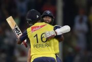 Hashim Amla and Thisara Perera