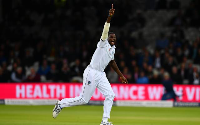 Jason Holder England v West Indies