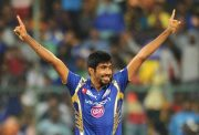 Jasprit Bumrah of Mumbai Indians