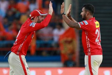 KC Cariappa and Glenn Maxwell