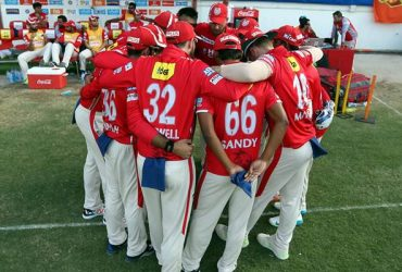 Kings XI Punjab Huddle