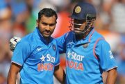 MS Dhoni, Rohit Sharma India v Australia